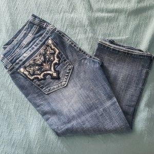 Miss me capri jeans
